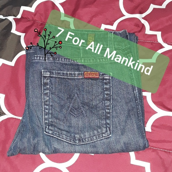 7 For All Mankind Denim - 7 For All Mankind 'A' pocket bootcut jeans